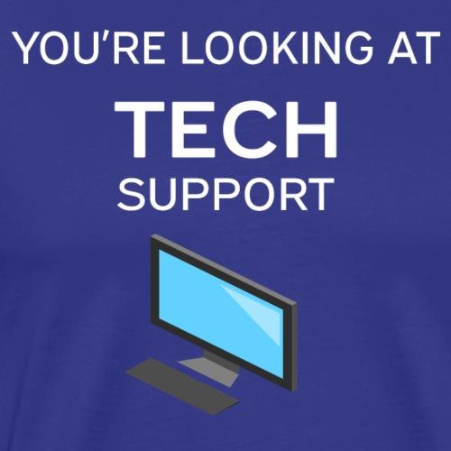 Tech Support - White - Men's Premium T-Shirt