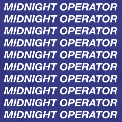 Midnight Operator Hotline Bling - Men's Premium T-Shirt