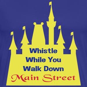Whistle While Walk! - Men's Premium T-Shirt