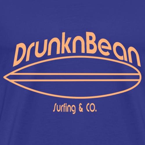 DrunknBean surfing - Men's Premium T-Shirt