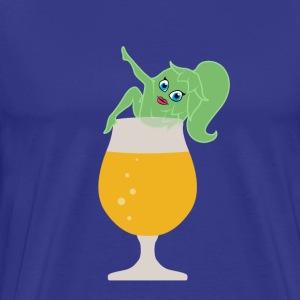 Sexy Beer Girl - Men's Premium T-Shirt
