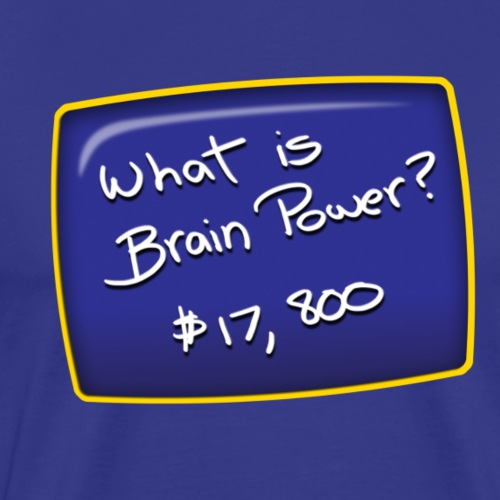 Brain Power - Men's Premium T-Shirt
