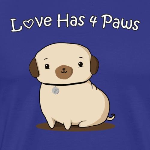 Love Has 4 Paws - Men's Premium T-Shirt