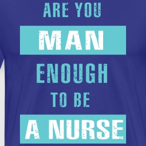 Male Nurse - Men's Premium T-Shirt