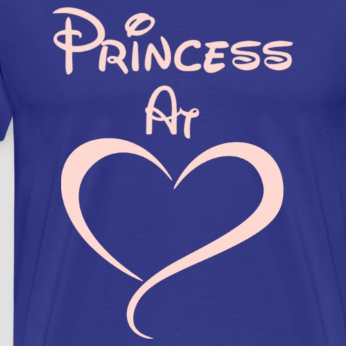 Princess At Heart - Men's Premium T-Shirt