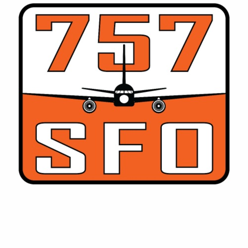 SFO 757 - Men's Premium T-Shirt