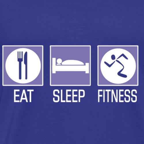 Eat. Sleep. Fitness. - Men's Premium T-Shirt