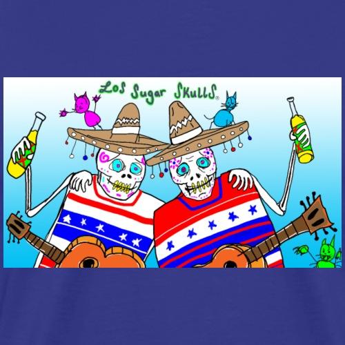 LOS SUGAR SKULLS AND THE FREAKY PUSSY CATS - Men's Premium T-Shirt