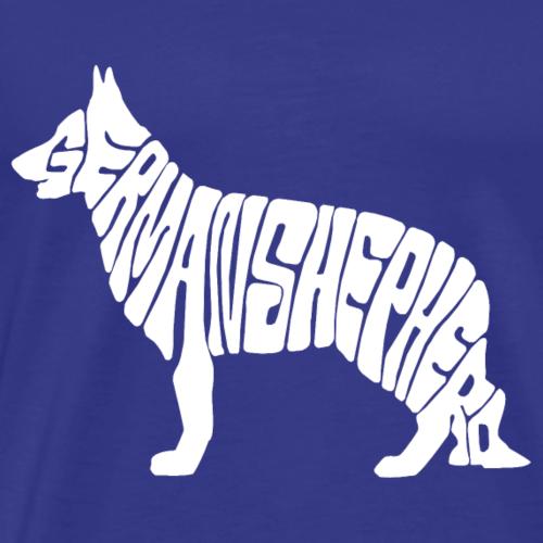 German Shepherd - Men's Premium T-Shirt