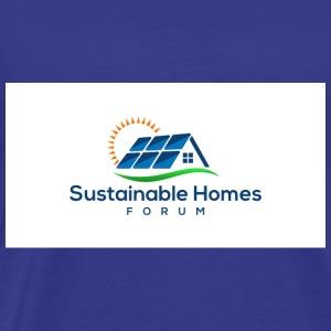 Sustainable Homes Forum Logo - Men's Premium T-Shirt