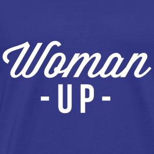 Woman up - Men's Premium T-Shirt