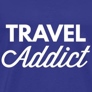 Travel addict - Men's Premium T-Shirt