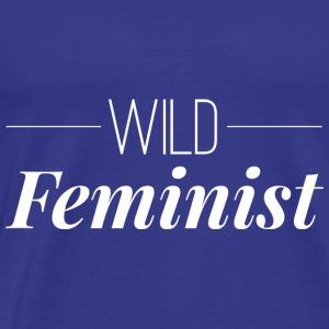 Wild Feminist - Men's Premium T-Shirt