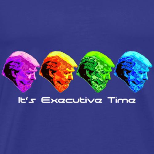 The Executive Rainbow - Men's Premium T-Shirt