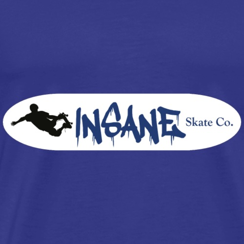 Insane Skate Deck Royal - Men's Premium T-Shirt