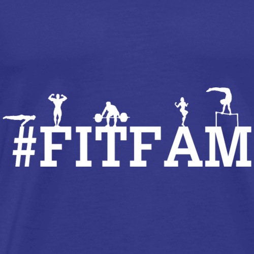 #fitfam - Men's Premium T-Shirt