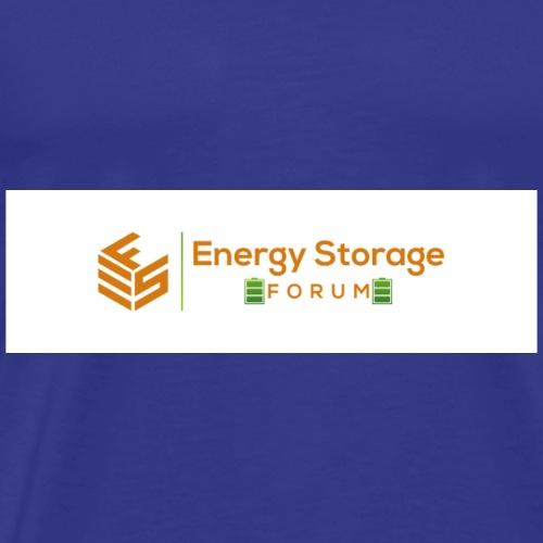 Energy Storage Forum Logo - Men's Premium T-Shirt