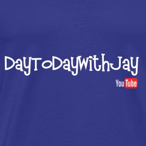 DayToDayWithJay Logo - Men's Premium T-Shirt