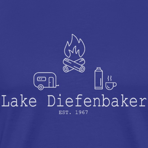 Lake Diefenbaker - Men's Premium T-Shirt