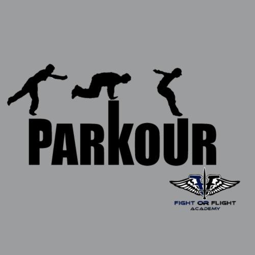 Parkour Text Kong Precision - Men's Premium T-Shirt