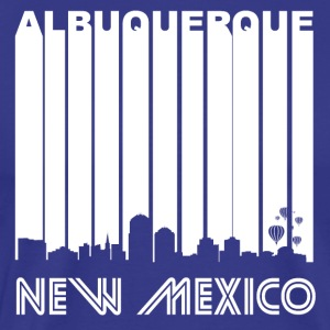 Retro Albuquerque Skyline - Men's Premium T-Shirt