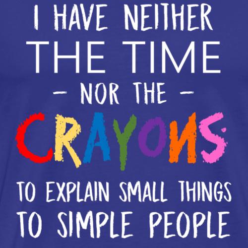 Simple Things - Men's Premium T-Shirt