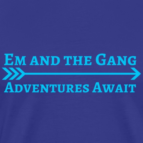 Em and the Gang Arrow Logo - Men's Premium T-Shirt