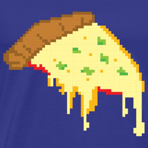 pixel pizza - Men's Premium T-Shirt