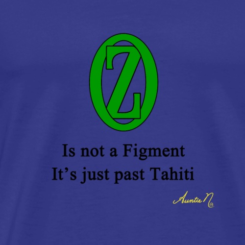 0136 Not a figment - Men's Premium T-Shirt
