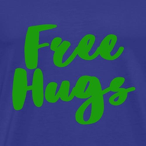 Free Hugs - Green - Men's Premium T-Shirt