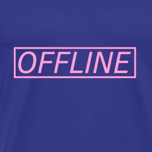 Offline Pink - Men's Premium T-Shirt