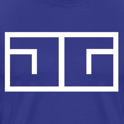 OG Jam Girlz Logo White - Men's Premium T-Shirt