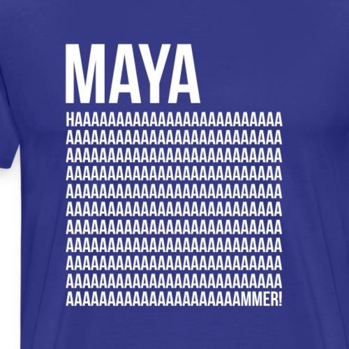 MAYA HAMMAR! - Men's Premium T-Shirt