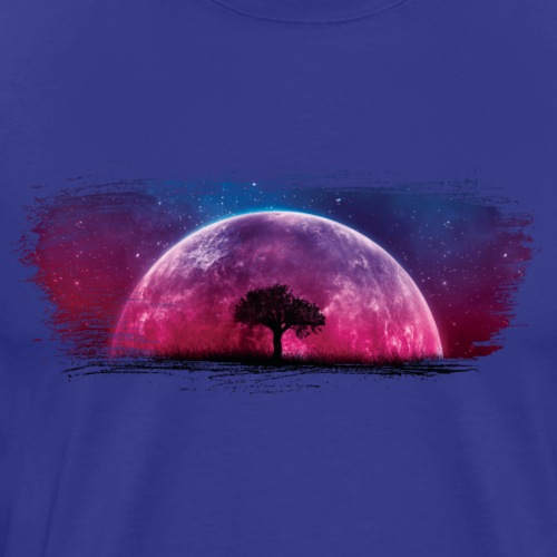 Moonscape Artistic Swash - Men's Premium T-Shirt