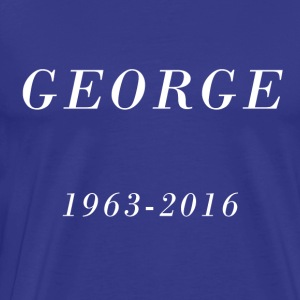George 1963-2016 - Men's Premium T-Shirt