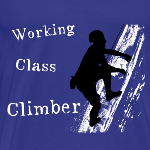 Working Class Climber - Men's Premium T-Shirt