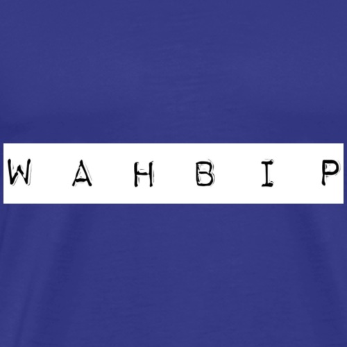 WAHBIP merch - Men's Premium T-Shirt