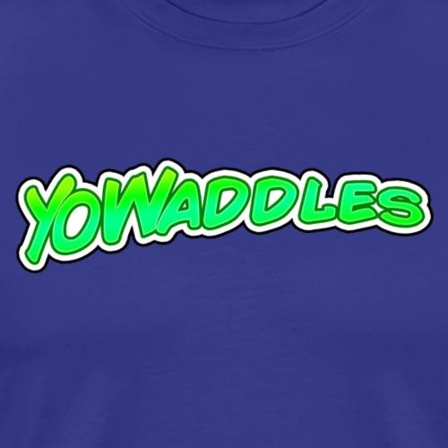 YoWaddles Logo - Men's Premium T-Shirt