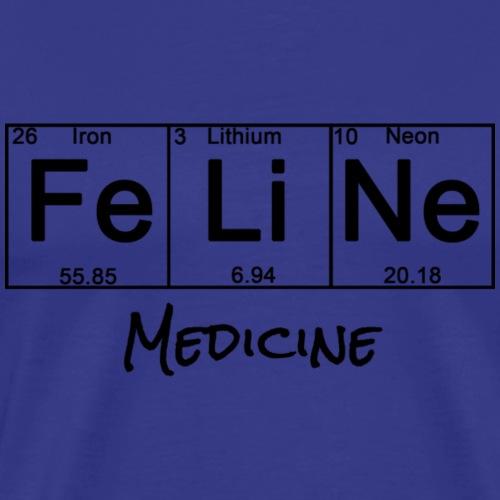 Periodic Table: Feline Medicine - Men's Premium T-Shirt