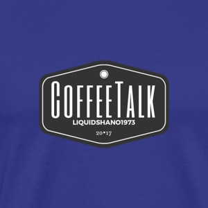 CoffeeTalk Traditional Logo - Men's Premium T-Shirt