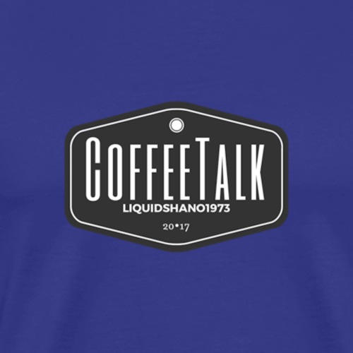 CoffeeTalk Traditional Logo - Men's Premium T-Shirt