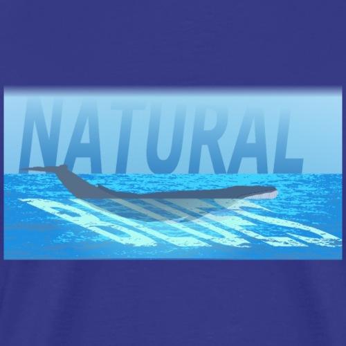Natural blues - Men's Premium T-Shirt