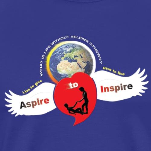 Aspire To Inspire - Men's Premium T-Shirt