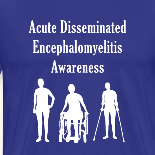 Acute Disseminated Encephalomyelitis Awareness - Men's Premium T-Shirt