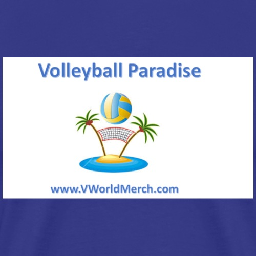 Volleyball Paradise - Men's Premium T-Shirt