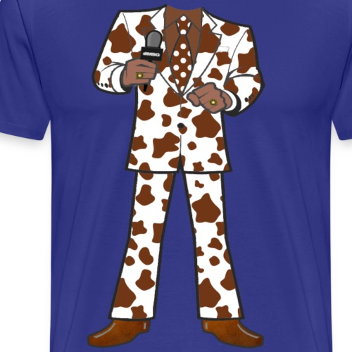 The Brown Cow Suit - Men's Premium T-Shirt