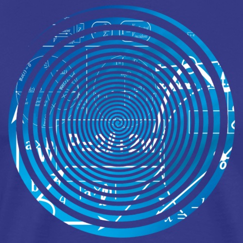 Geometry equation spiral - Men's Premium T-Shirt