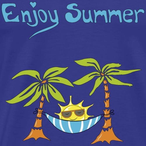 Summer time Enjoy summer - Men's Premium T-Shirt