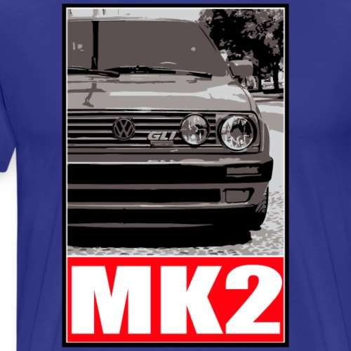 Golf MK2 - Men's Premium T-Shirt