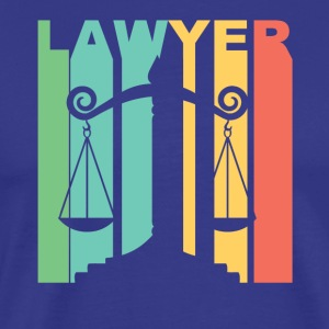 Vintage Lawyer Graphic - Men's Premium T-Shirt
